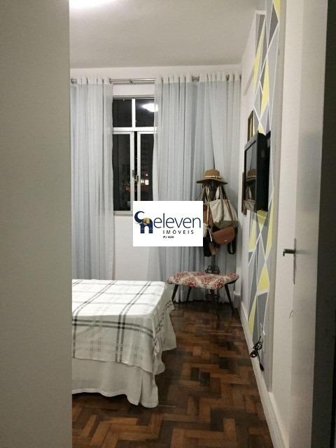 eleven imóveis, apartamento para venda graça, salvador nascente 3 /4 com  dependência de empregada completa - ap00128 - 32050179