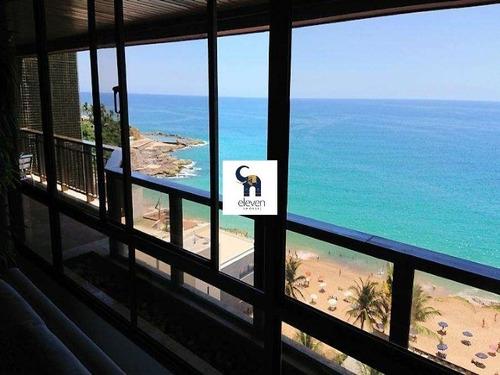 eleven imóveis, belíssima cobertura duplex para venda no rio vermelho 4/4 , vista mar . - cb00124 - 34354405
