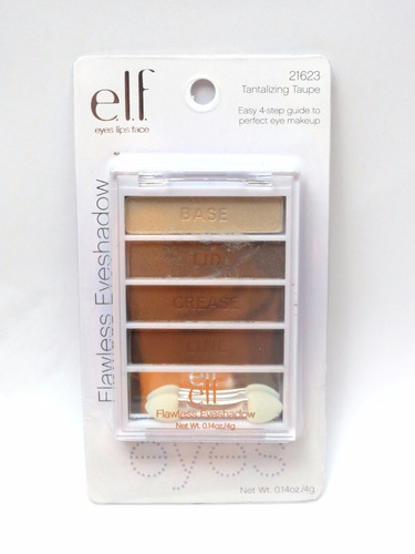 elf quarteto de sombras flawless eyeshadow 21623 original