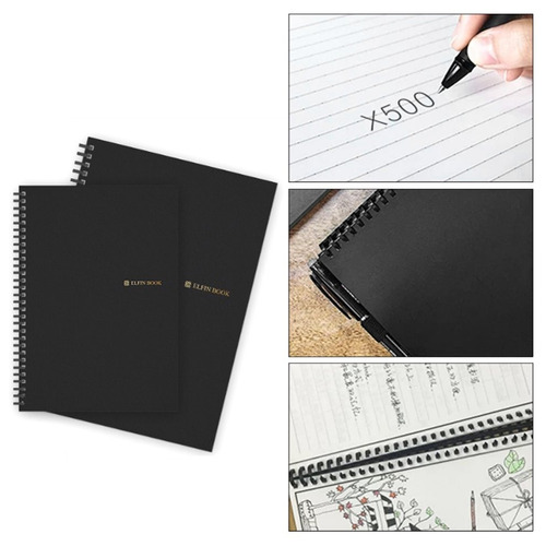 elfinbook 2.0 inteligente reutilizable borrable cuaderno nub