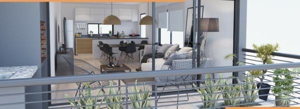 elflein 3165 - duplex 1° y 2° piso en construcción - la lucila