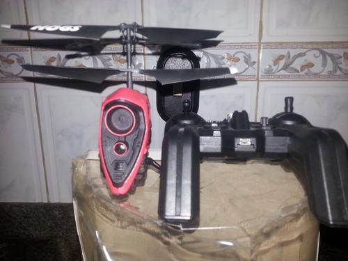 elicoptero drom video/cámara