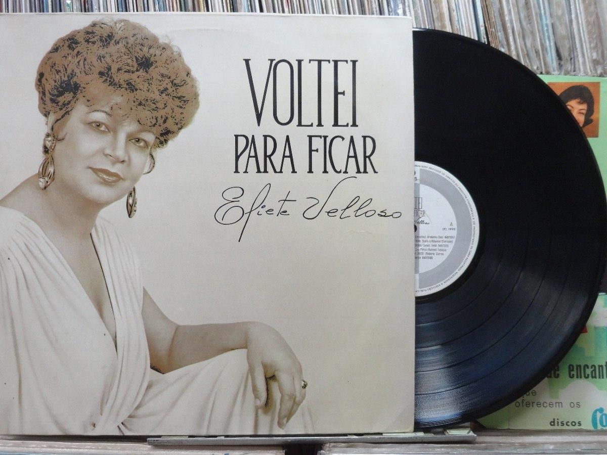 Eliete Velloso Voltei Para Ficar Lp Cid 1990 Estéreo - R$ 28,00 em ...