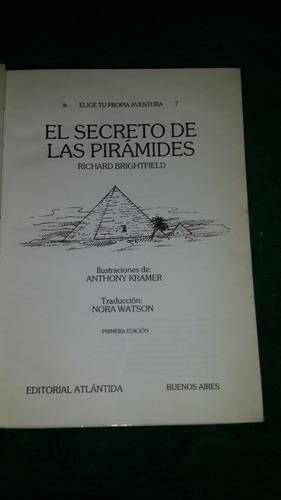elige tu propia aventura 7 - el secreto de las piramides