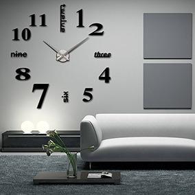 6a7a60acb0e9 Reloj Pared Moderno - Relojes de Pared en Mercado Libre Argentina