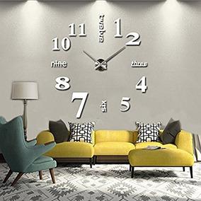fd6358801dc4 Reloj Pared 3d - Relojes de Pared en Mercado Libre Argentina