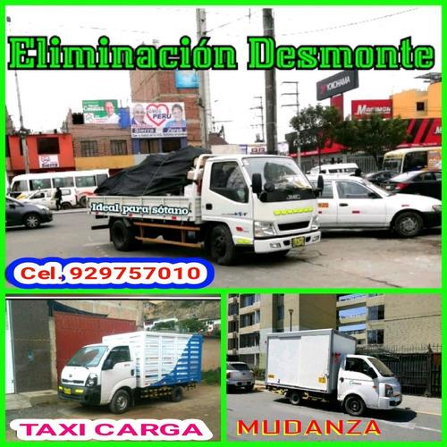 eliminación de desmonte & mudanzas y taxi carga precio barat