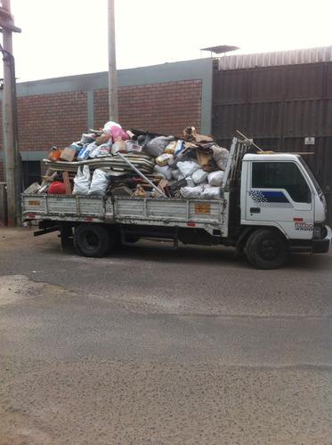 eliminación de  desmonte precios barato y mudanzas 989696700