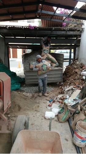 eliminación de desmonte, recojo de maleza y mudanzas. s/.1 2