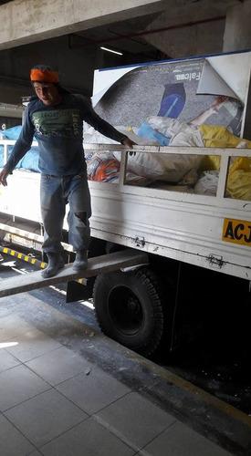eliminacion de desmonte, transporte,  mudanzas, local-nacion