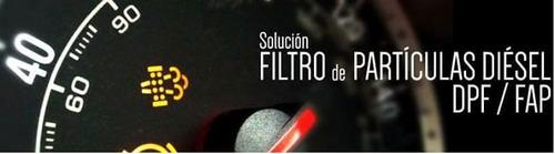 eliminación de filtro de partículas (dpf off)
