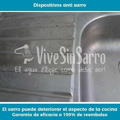 eliminador de sarro para tinaco o cisterna 1,500 litros