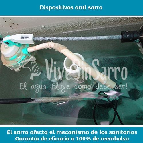 eliminador de sarro para tubería doméstico vss td1