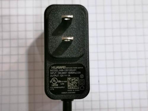 eliminador para módem huawei modelo hw-120100u01