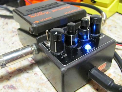 eliminador pedal pedaleras boss etc... envio cable largo 2m