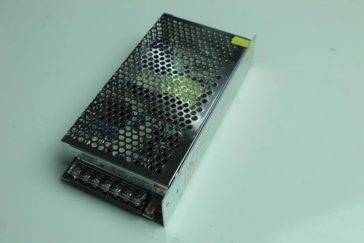 Eliminador transformador fuente poder 12v 10a 120w tiras for Transformador led 12v