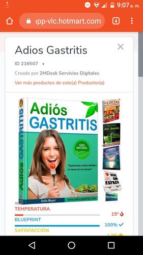 eliminar la gastritis