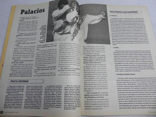 eliminatorias chile ya desenfunda triunfo revista deporte