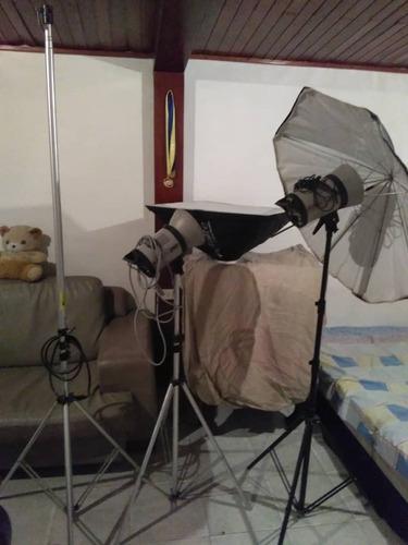 elinchrom estudio fotográfico portátil