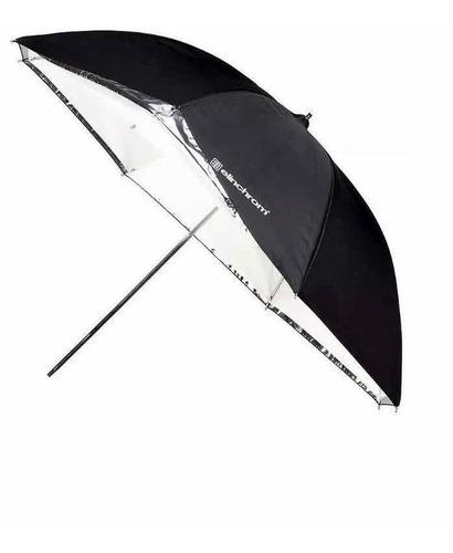 elinchrom paraguas para set de fotografía translúcido