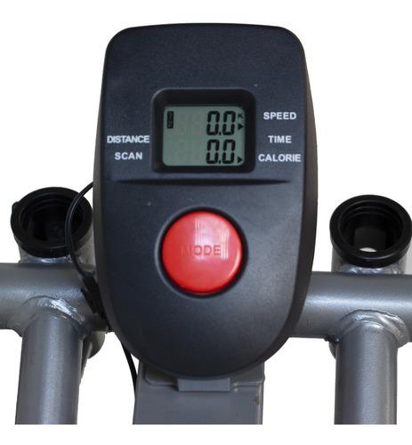 eliptica bicicleta resistencia aire centurfit pantalla lcd