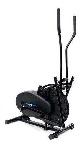 elíptica de banda con ventilador, peso max 80kg sportfitness
