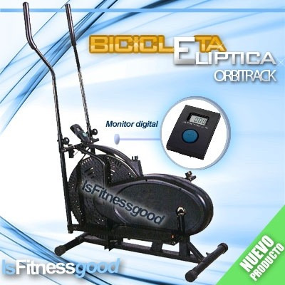eliptica orbitrack 2en1 monitor digital 5 funciones