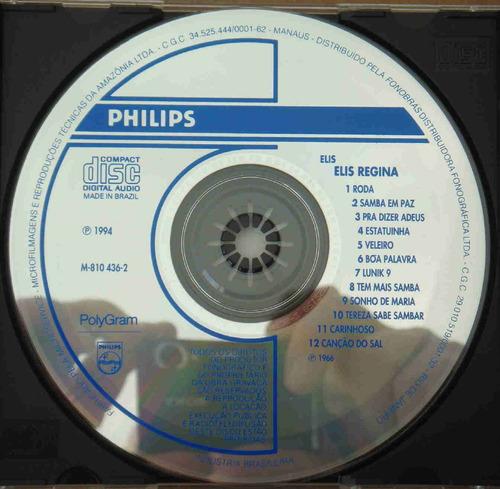 elis regina cd elis 1966 / 1994
