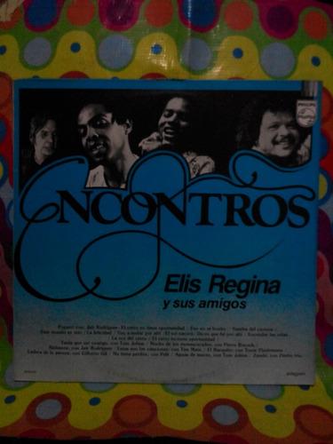 elis regina y sus amigos lp encontros 1982