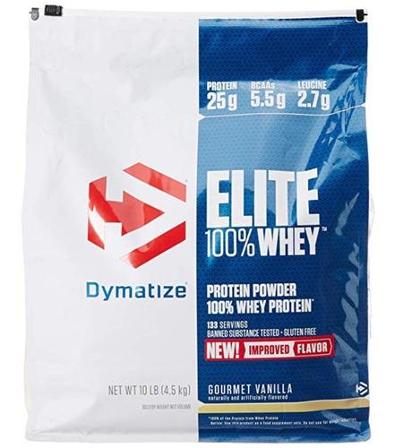 elite 100% whey 10 lbs - dymatize + envío gratis
