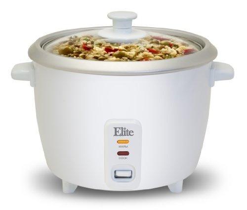 elite cuisine erc-003st maxi-matic 6 copa arrocera con bande