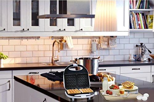 elite cuisine ewm9008k waffle maker iron hace 2 galletas cua