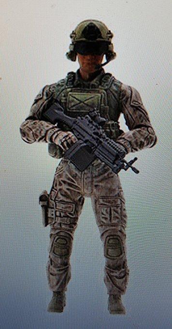 Elite Force Reece Army Rangers(lacrado) Gi Joe 25th,bbi