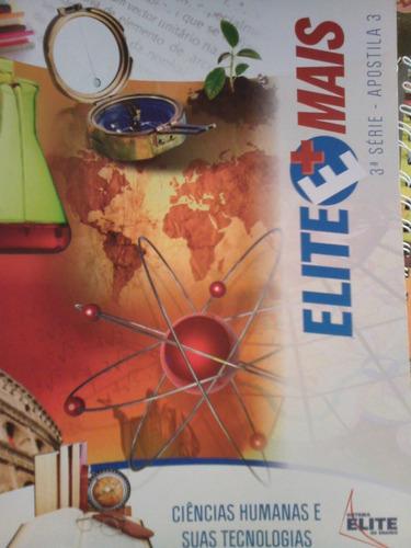 elite mais 3 serie apostila 3 ciencias humanas tecnologias