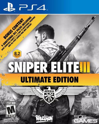 elite ps4 sniper