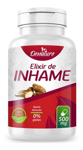 elixir de inhame 100 cápsulas de 500mg denature