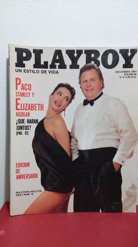 elizabeth aguilar revista playboy nov 1991