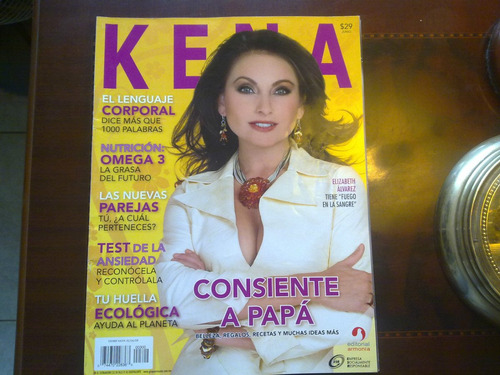 elizabeth alvarez en la revista kena 2008