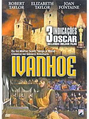 elizabeth taylor em ivanhoe - dvd lacrado