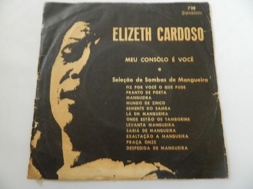 elizeth cardoso 1968 meu consôlo é você - compacto /ep 22.02