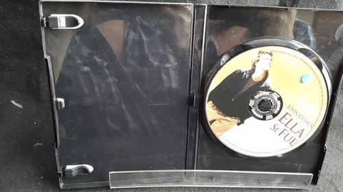 ella se fue dvd original 1dh