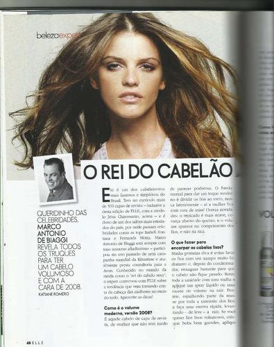 elle brasil 2008/ capa jeisa chiminazzo