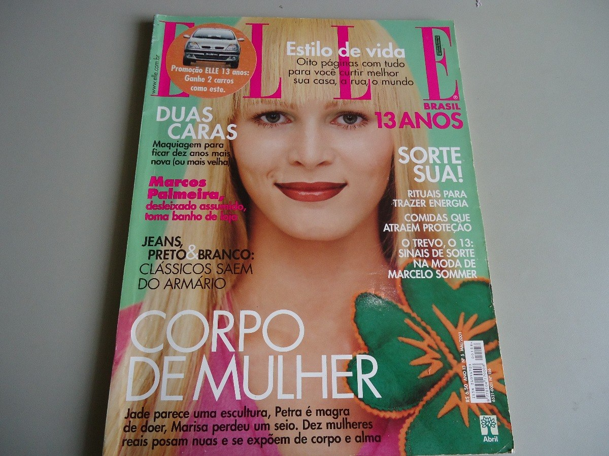 Elle Brasil Nº 156 Marcelo Sommer Isabella R Marcos Palmeira - R$ 18 ...