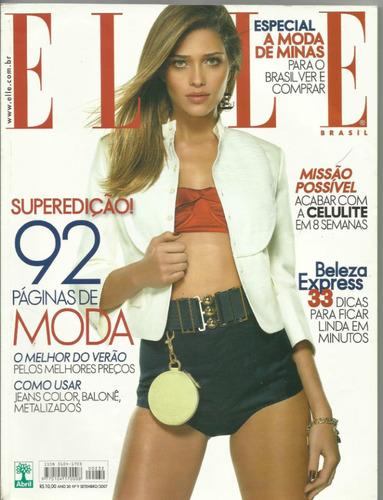 elle brasil-n 9-setembro 2007-ana beatriz na capa
