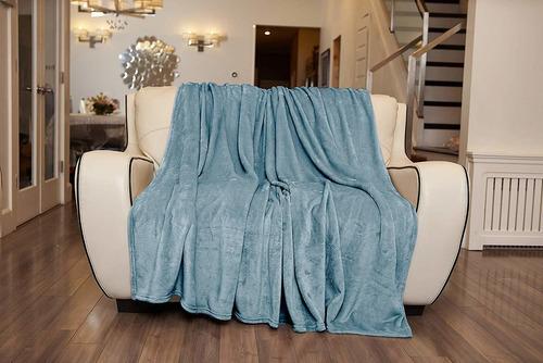 elle décor silky soft throws para sofá cama y sofá g...