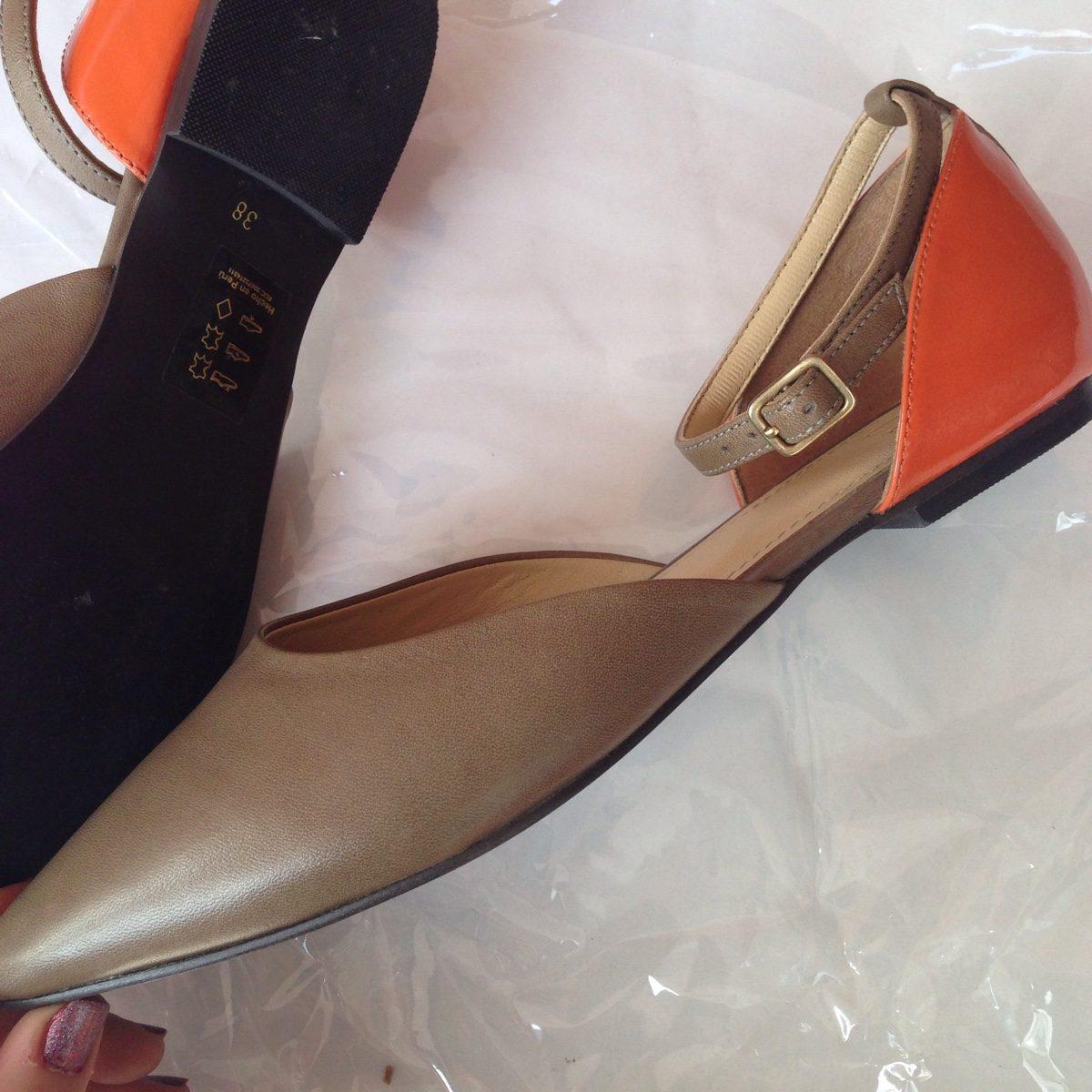 Elle Mujer Zapatos De Remate Flats Cuero Sieteshop PkiXZu