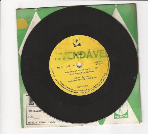ellen 1979 amando sobre os jornais - compacto - ep d7