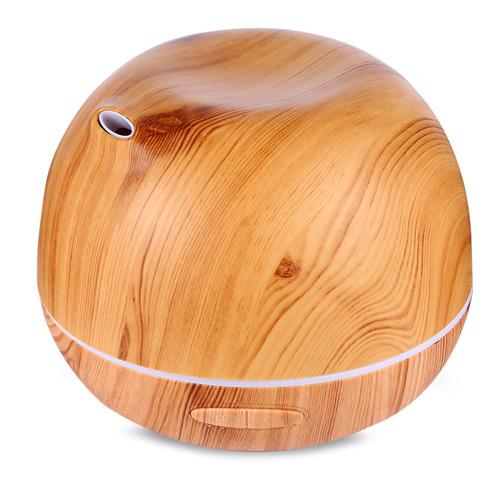 ellestfun 300ml humidificador de aire de madera del difusor