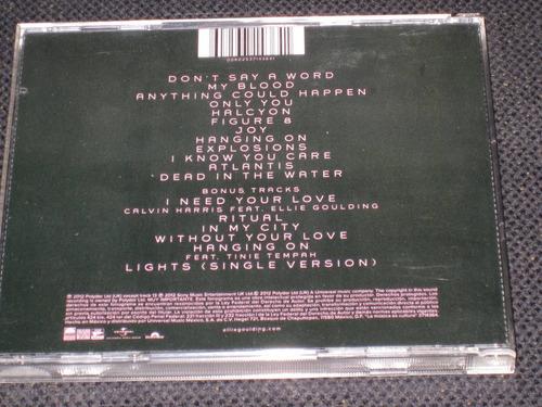 ellie goulding * halcyon * c d 18 tracks