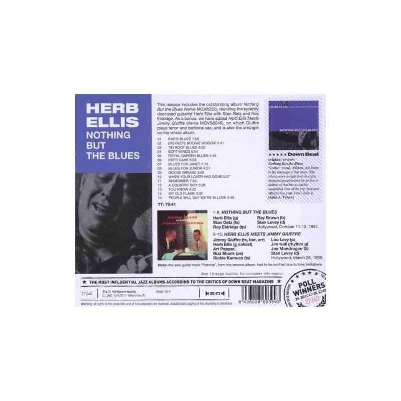 Ellis Herb Nothing But The Blues Usa Import Cd Nuevo